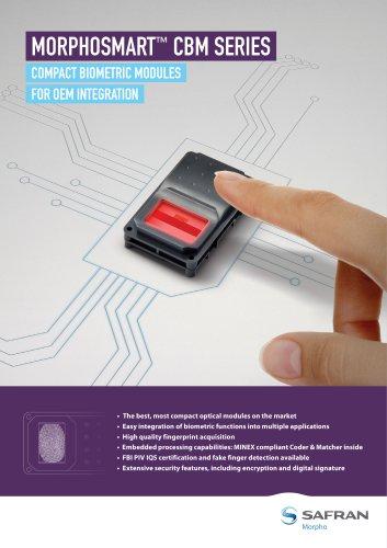 MorphoSmart CBM Series brochure