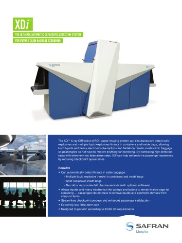 The ultimate automatic explosives detection system for future cabin baggage screening