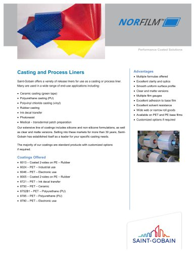 Casting and Process Liners