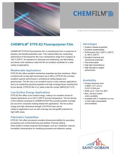 CHEMFILM® ETFE-E2 Fluoropolymer Film