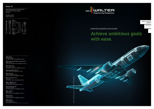 Industry-specific solutions - Aerospace