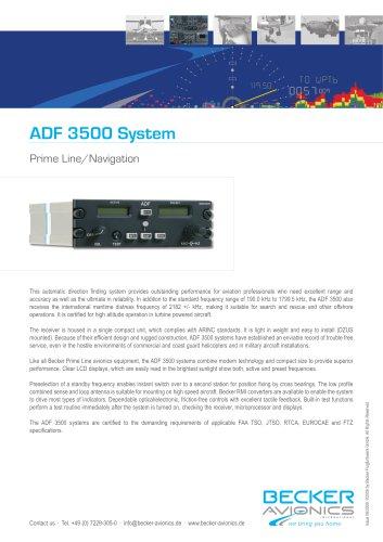 Datasheet ADF 3500