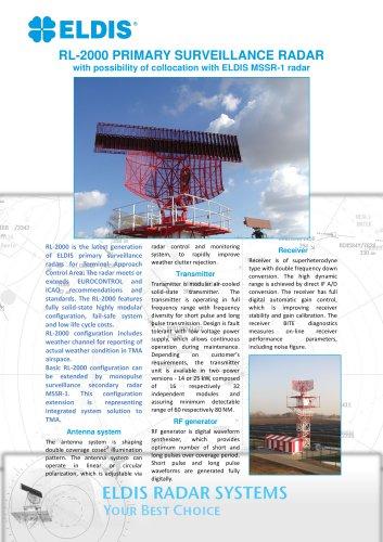 RL 2000 - ELDIS PARDUBICE, S R O  - PDF Catalogs | Technical