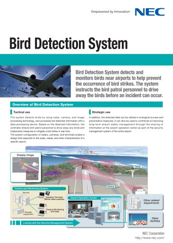 Bird Detection System