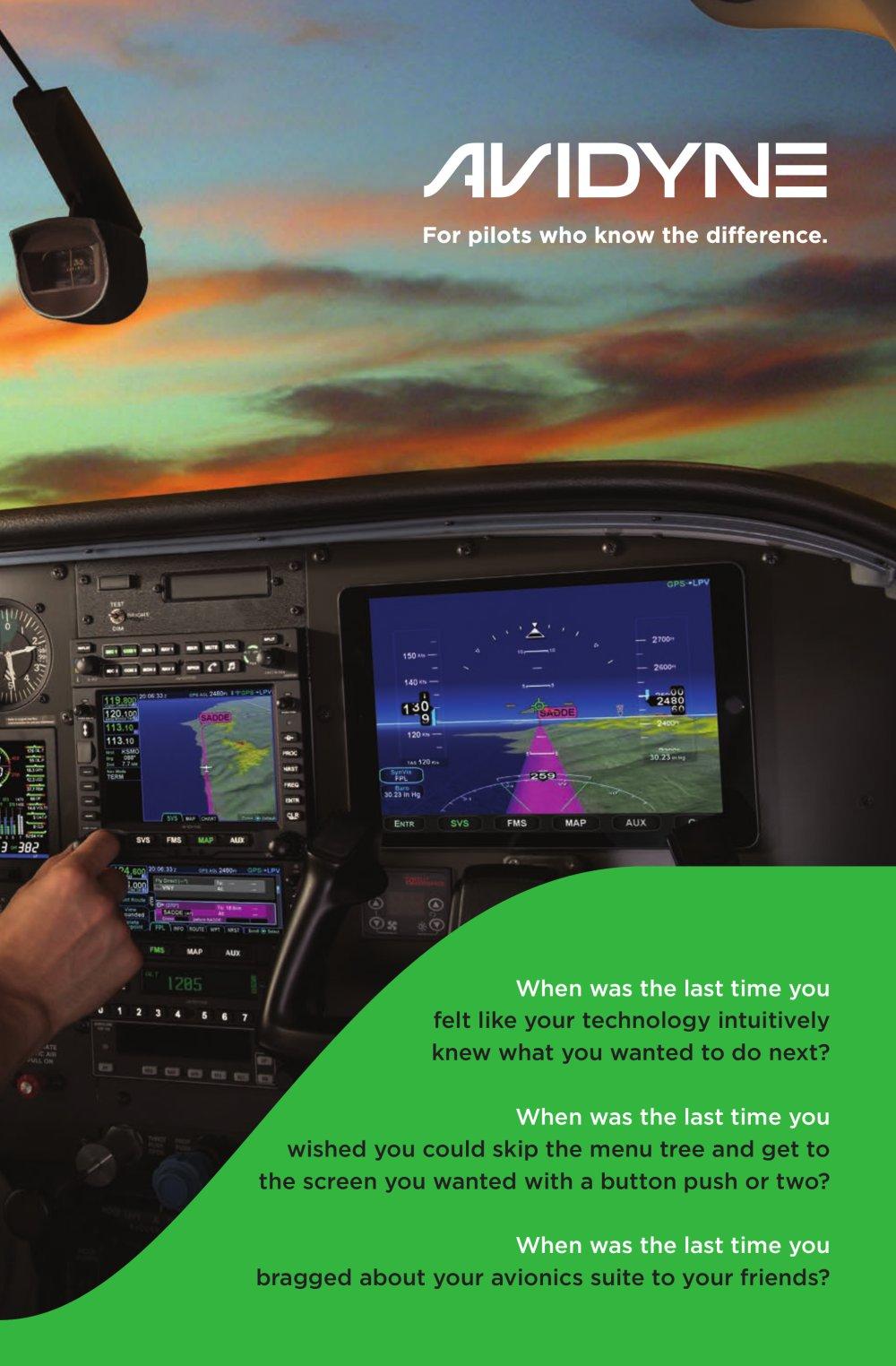 avidyne 8 panel brochure avidyne pdf catalogue technical
