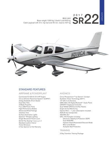 2017-SR22-International-Pricelist