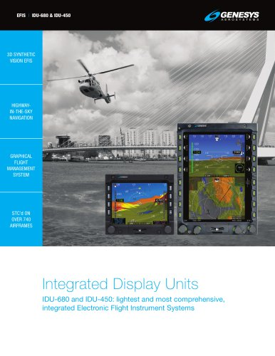 Integrated Display Units