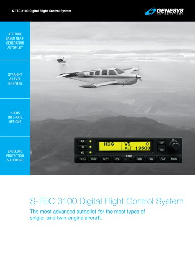 S-TEC 3100 Digital Flight Control System