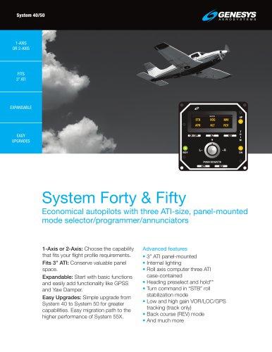 System 40/50