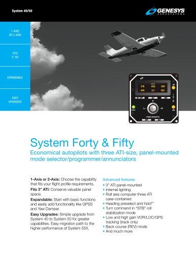 System 40/50 Autopilot