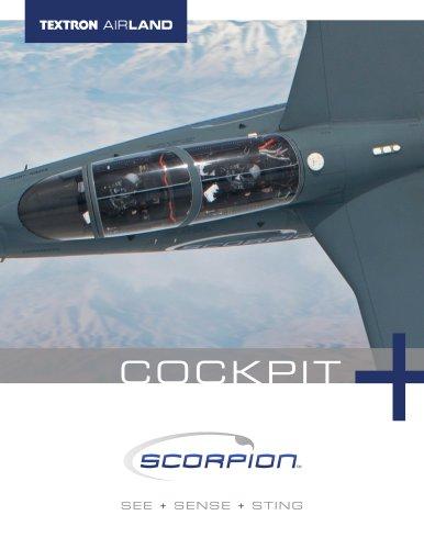Textron AirLand Scorpion Jet Cockpit