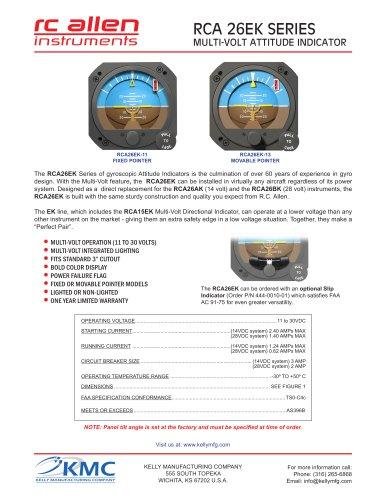 RCA26-EK Datasheet