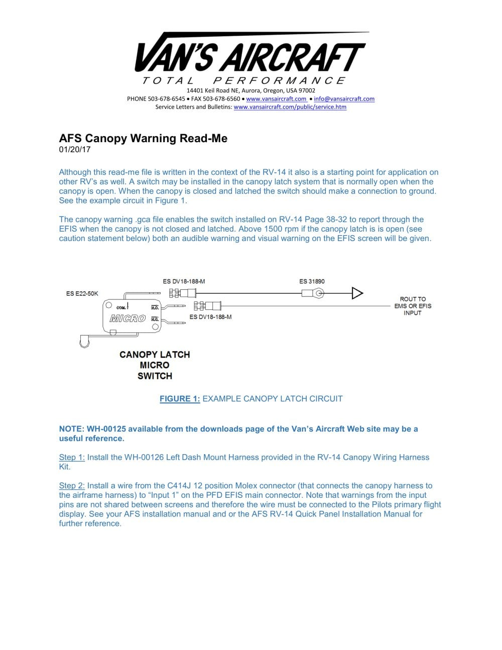 AFS Canopy Warning - 1 / 3 Pages  sc 1 st  Catalogs Aeroexpo & AFS Canopy Warning - Vans Aircraft Inc. - PDF Catalogs | Technical ...