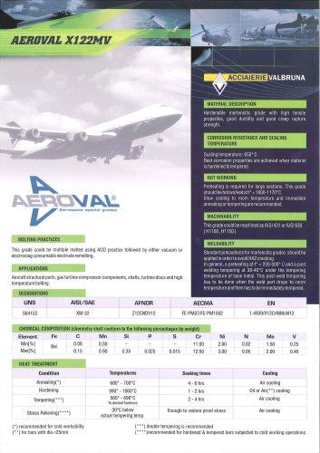 AEROVAL X122MV