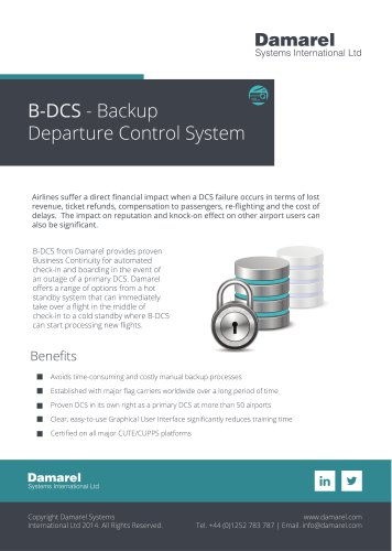 Backup DCS