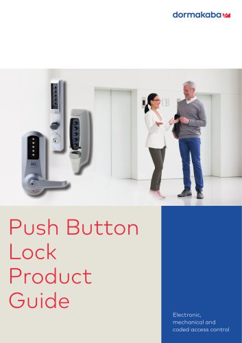 Push Butoon Lock Brochure