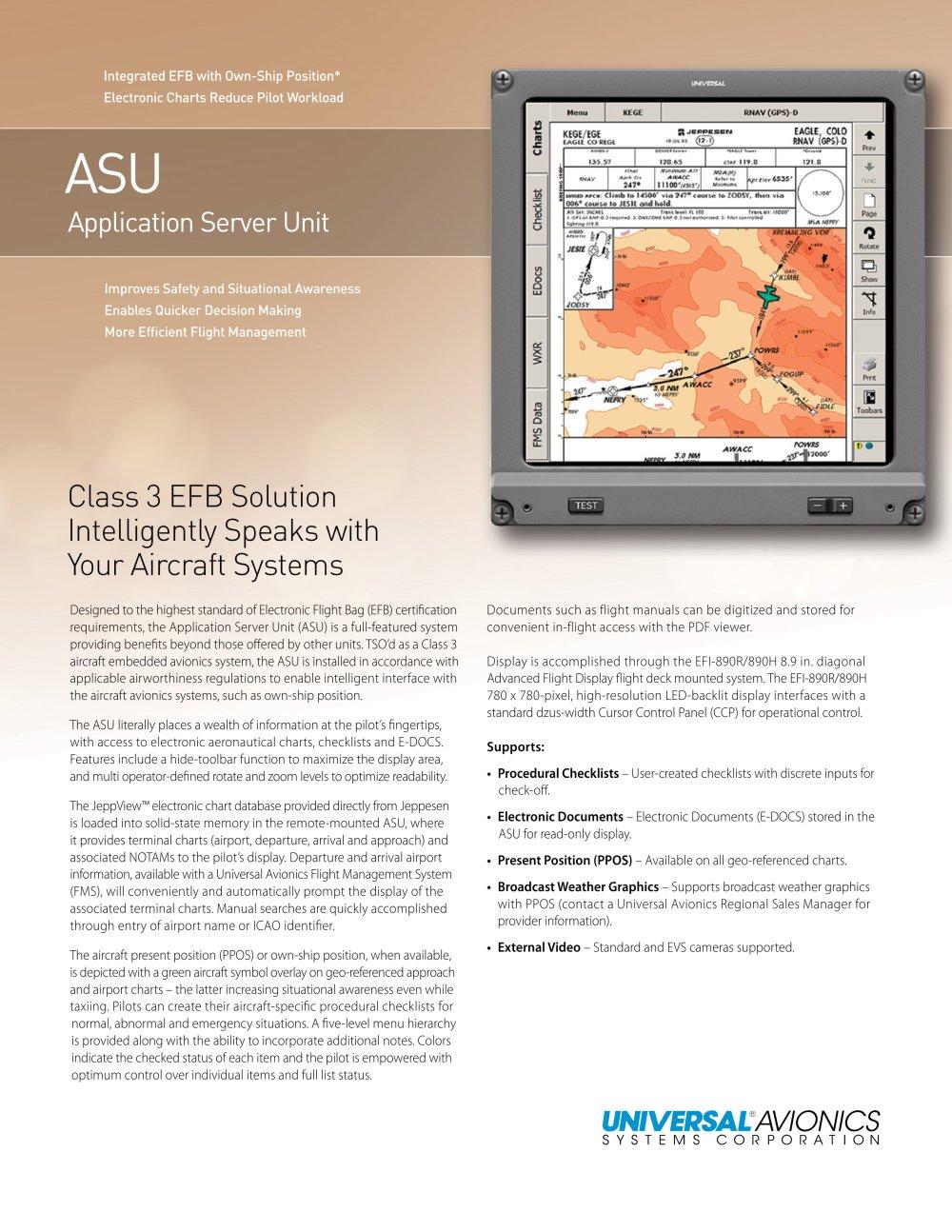 ASU - Universal Avionics Systems Corp. - PDF Catalogue | Technical ...