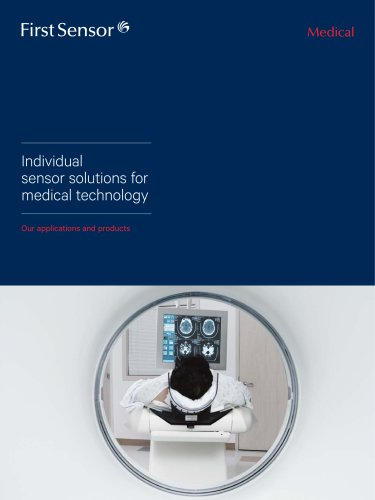 Individual sensor solutions for medical technology