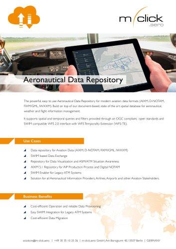 Aeronautical Data Repository