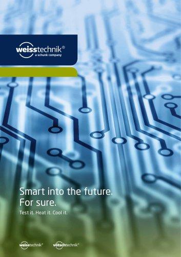 Smart into the future. For sure.