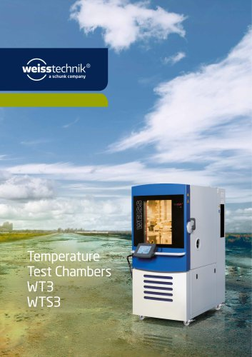 Temperature Test Chambers WT3 WTS3