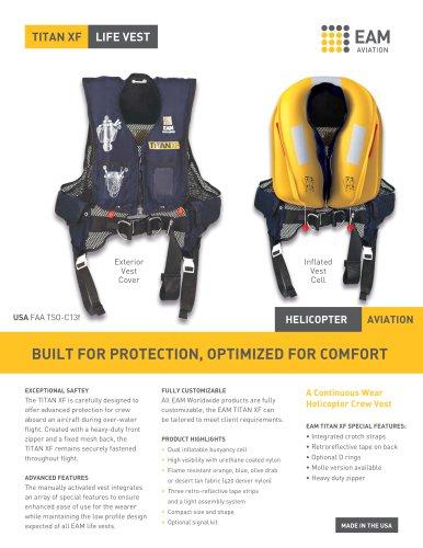 TITAN XF life vest