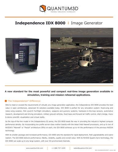 Independence IDX 8000