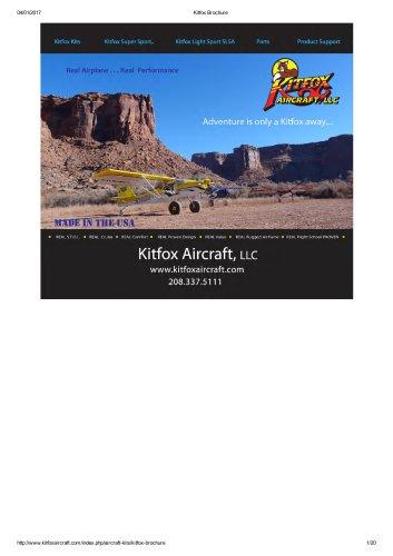Kitfox Brochure