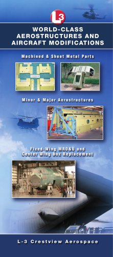 L3 Crestview Aerospace - L3 Technologies - PDF Catalogs | Technical