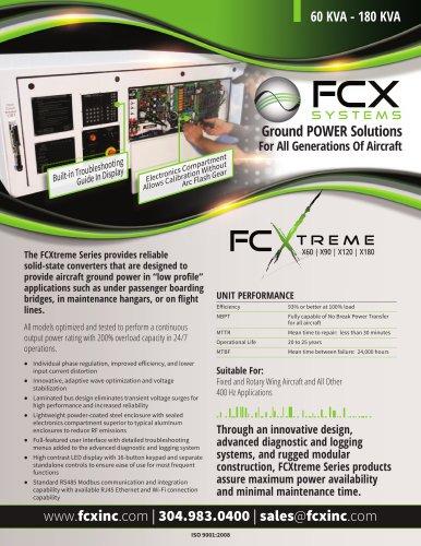 FCXTREME X60 | X90 | X120 | X180