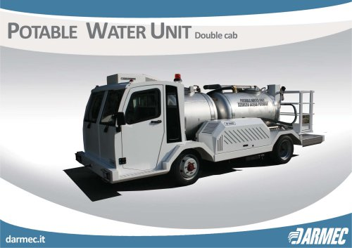POTABLE WATER UNIT DOUBLE CAB