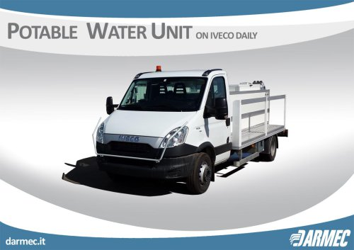 POTABLE WATER UNIT ON IVECO DAILY