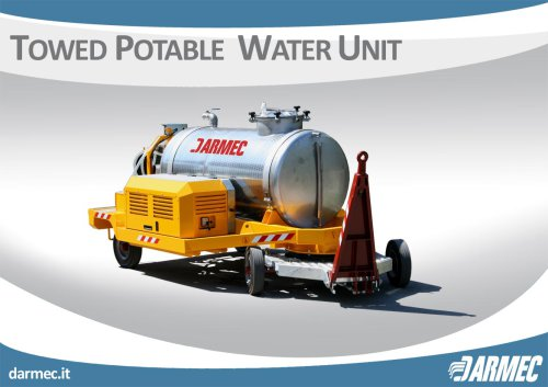 TOWED POTABLE WATER UNIT
