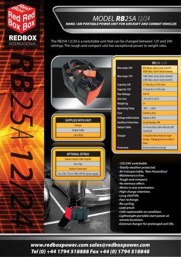 MODEL RB25A 12/24