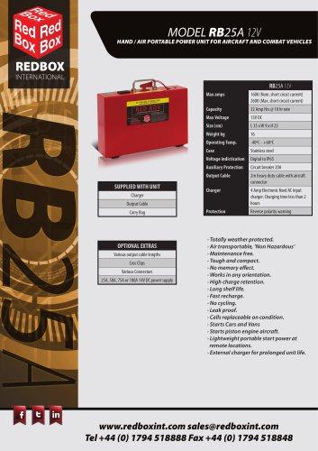 MODEL RB25A 12V
