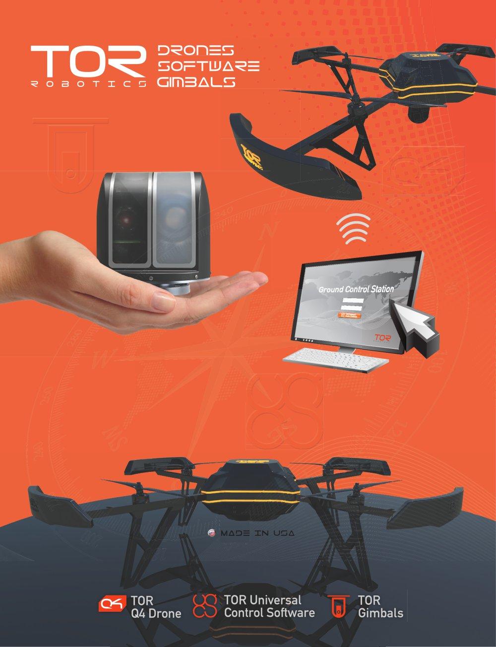 Tor Robotics Q4 Drone Tor Robotics Pdf Catalogue Technical
