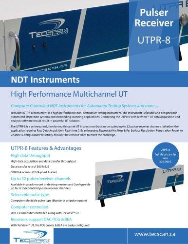 TecScan-Pulser-Receiver UTPR-8