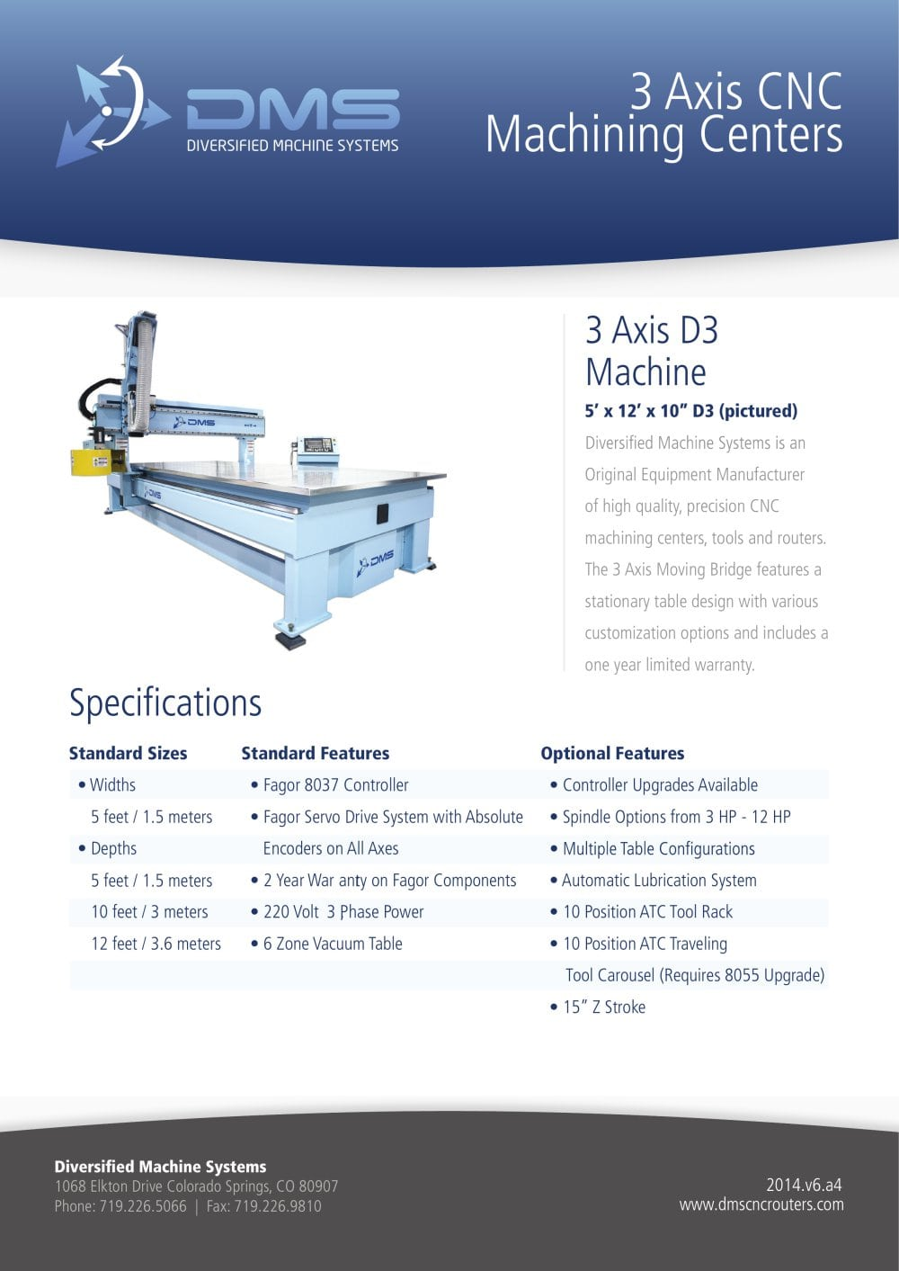 3 Axis Cnc Machining Centers 1 2 Pages