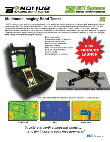 Multimode Imaging Bond Tester