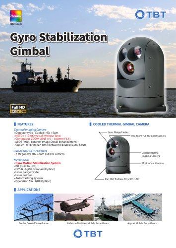 2017 Gyro Stabilization Gimbal (SR-Z400)