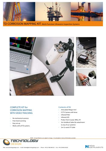 TD CORROSION MAPPING KIT