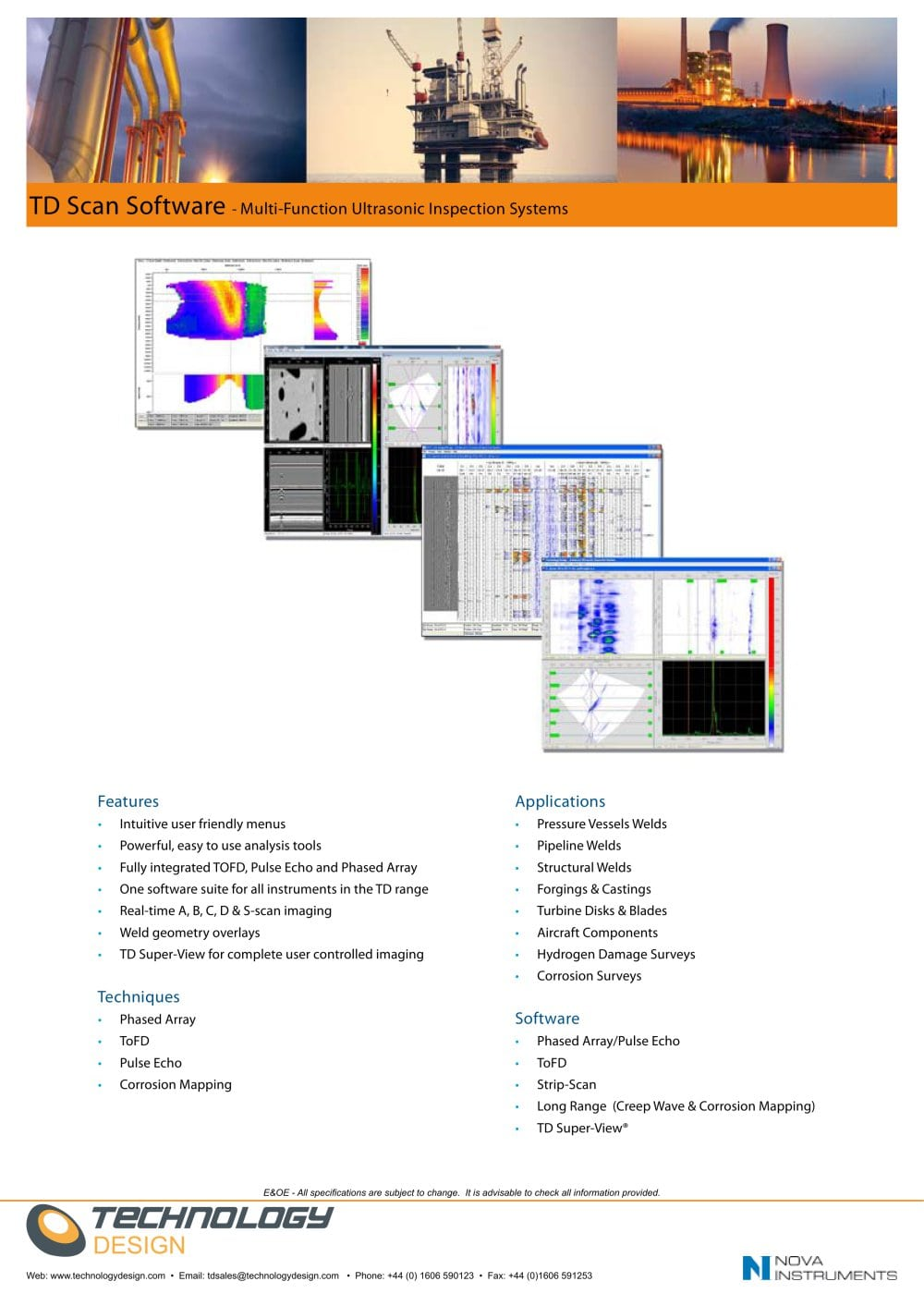TD Scan Software   1 / 2 Pages