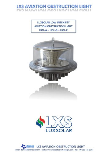 Lxs LIOL aviation obstruction light L810 datasheet