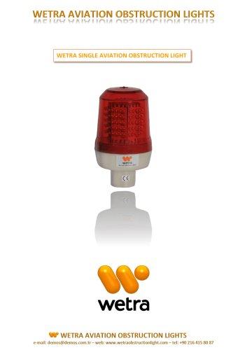 WETRA  SINGLE AVIATION OBSTRUCTION LIGHT