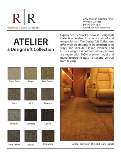 ATELIER a DesignTuft Collection