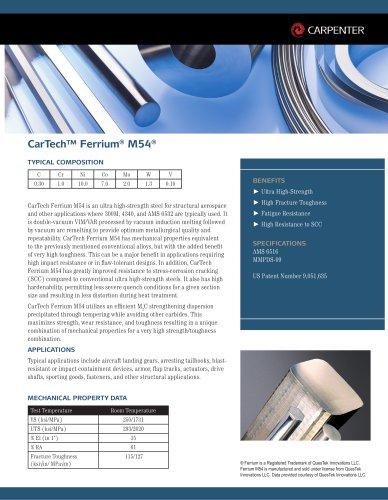 CarTech™ Ferrium® M54®