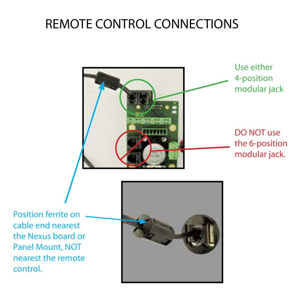 Clearnav Wiring Remote Control Connections Inc Pdf Nexus Diagram 1 Pages