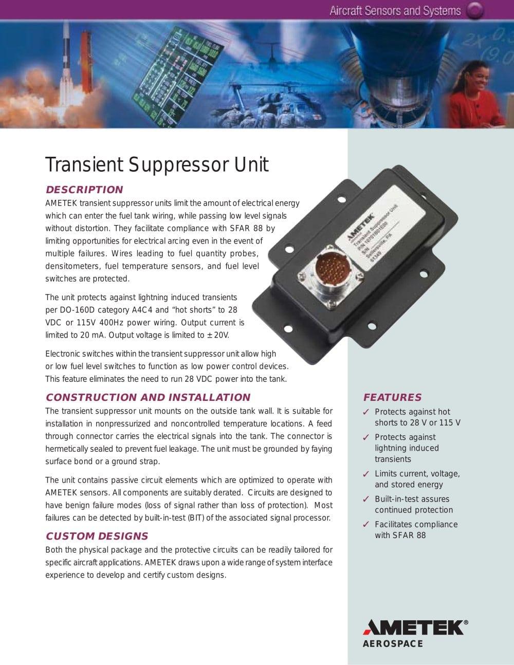 Surface Wiring System Pdf Electrical Diagrams Transient Suppressor Unit Ametek Fluid Management Systems At Home Depot