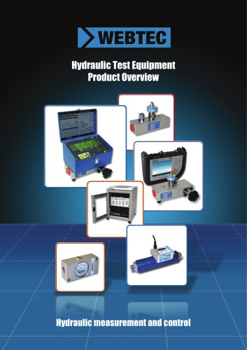Hydraulic Test Equipment Product Overview
