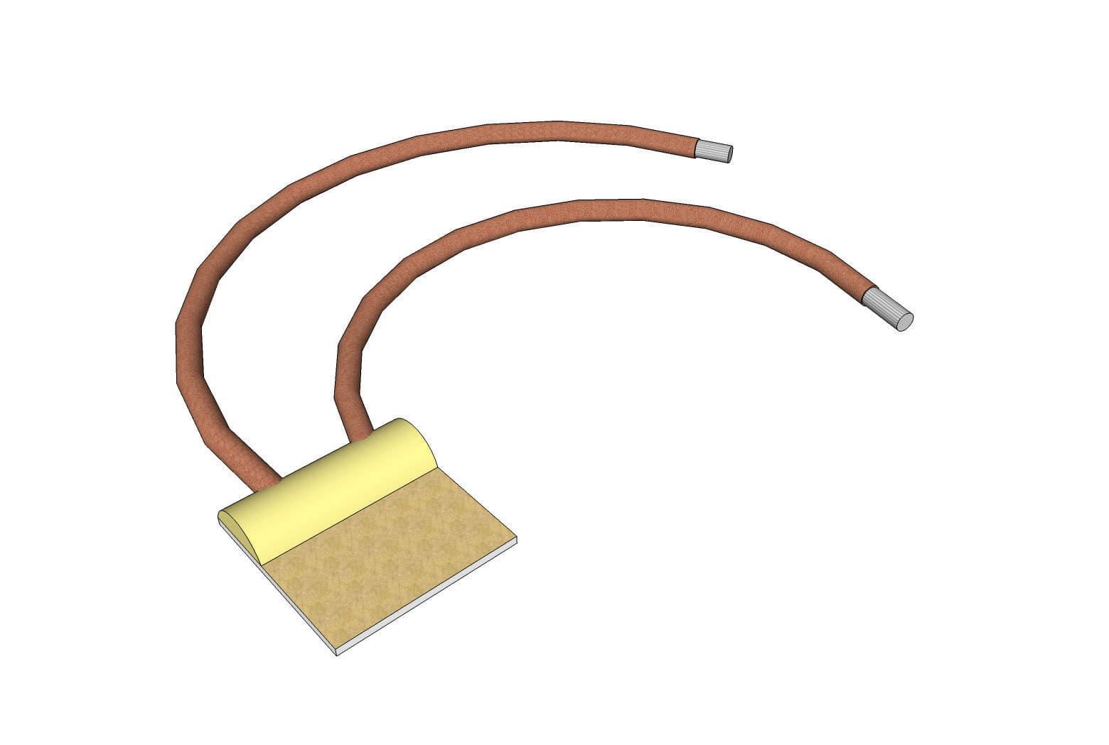Sensor De Temperatura De Níquel / Para Ar / Para água / Isolado ...